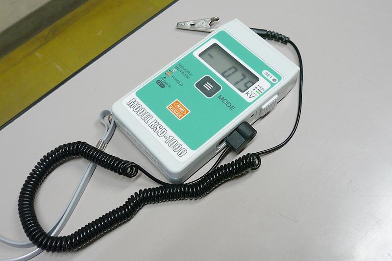 デジタル静電電位測定器